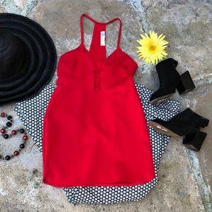 "❤️ ""Oh My Love"" LONDON Red Sexy Mini Dress/Tunic S"